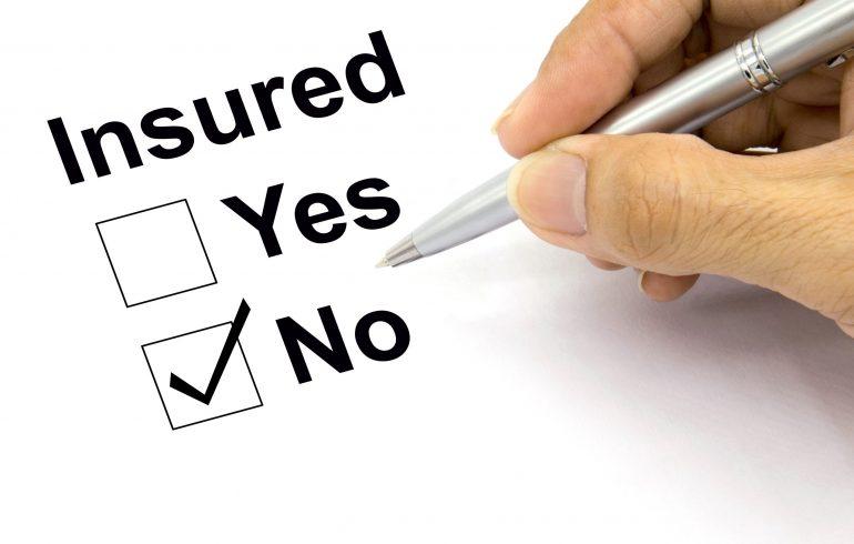 Man Insured no check-box
